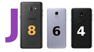 Arrivano i Samsung Galaxy J4, J6, J8 economici!