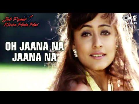 O Jaana Na Jaana - Video Song   Jab Pyaar Kisise Hota Hai   Salman Khan & Namrata   Kumar Sanu