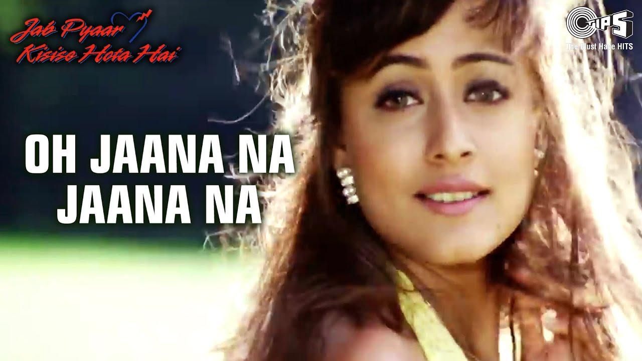 O Jaana Na Jaana - Video Song | Jab Pyar Kisisi Se Hota Hai | Salman Khan &  Namrata | Kumar Sanu