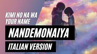 Kimi No Na Wa RADWIMPS Nandemonaiya Italian Version
