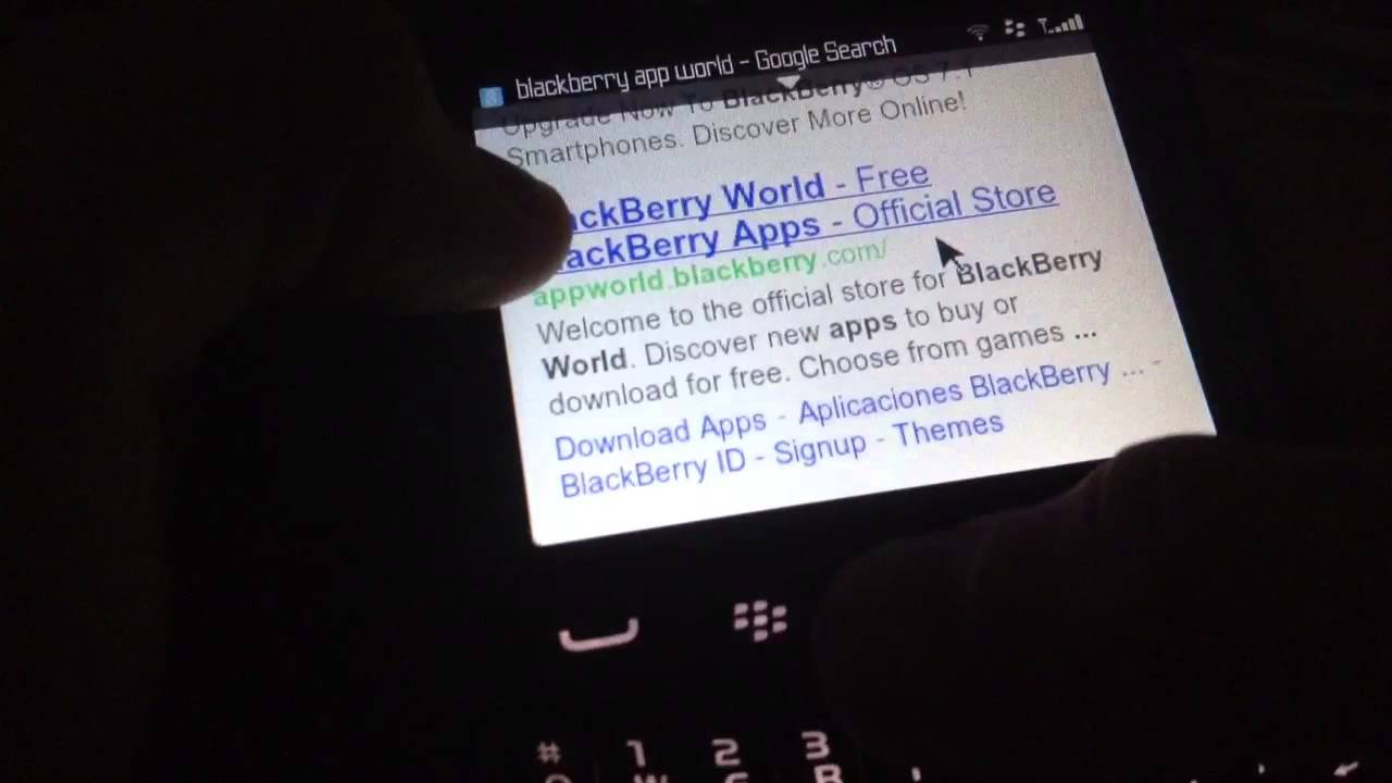 BlackBerry World - portablecontacts net
