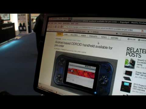 Hard Kernel ODroid Android gaming device