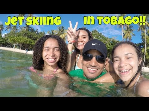 Jet Skiing in Tobago - VLOG 6!!