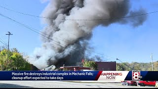 Mechanic Falls Fire Update