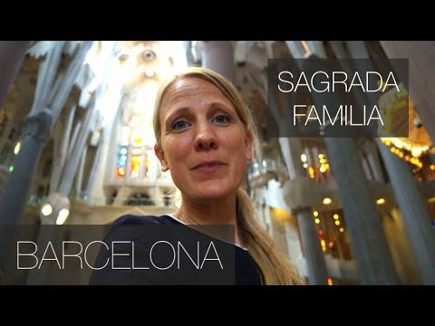 5 Facts About the Famous Sagrada Familia - Barcelona | Family Travel Vlog
