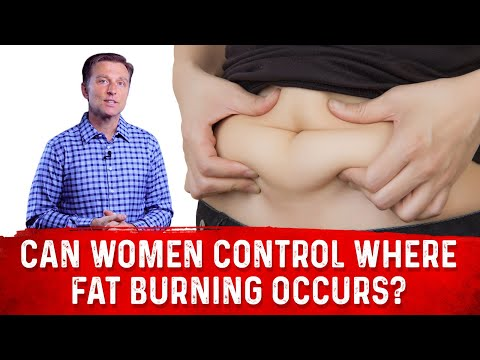Can Women Control WHERE They Lose Weight on their Body?