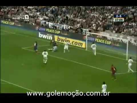 GOL Emoción: Real Madrid 2 x 6 Barcelona - Radio Catalunya - 34ª fecha Liga Espanhola 2008/2009
