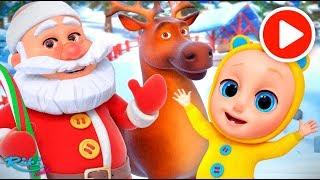 С новым годом! 🎅Jingle Bells - Christmas Song | Nursery Rhymes на русском!