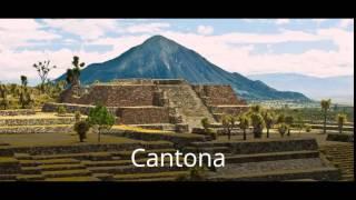 Zonas arqueológicas del estado de Puebla