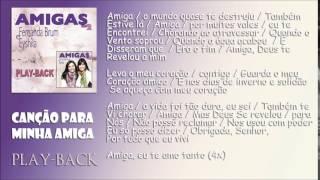 """Video Canção Para Minha Amiga [Playback] Fernanda Brum & Eyshila - CD """"Amigas 2"""" - 2009 (HD) download MP3, 3GP, MP4, WEBM, AVI, FLV Oktober 2018"""