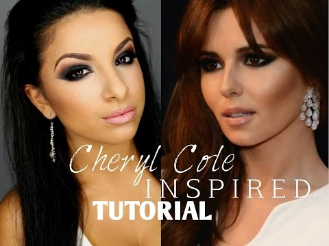Cheryl Cole Inspired Makeup | FULL FACE! | Makeup By Leyla