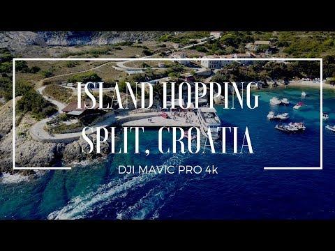 Island Hopping in Split, Croatia - DJI Mavic Pro 4K - Remote Year