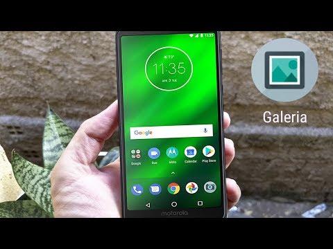 Como Instalar a Galeria de Fotos no Moto G6, G6 Plus e G6 Play