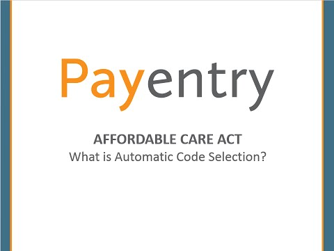 ACA - What is Auto Code Selection?PE