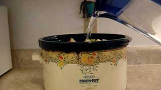 Milen Show: How To Make Chicken Soup In A Crock Pot
