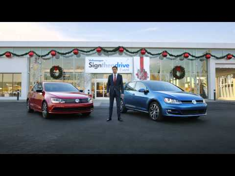 November 2014 Bill Jacobs VW Sign Then Drive Commercial