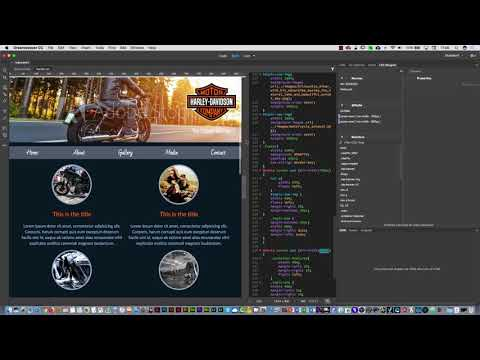 Responsive Web Design Media Queries tutorial with Dreamweaver CC 2018 Part three
