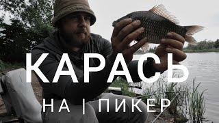 Ловля карася пикером Рыбалка в черте города