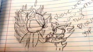 My Old Sonic Drawings ! Pt.4