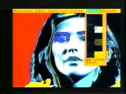 Andy Warhol paints Debbie Harry on an Amiga