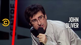 John Oliver's Rousing Halftime Speech to America - John Oliver's New York Stand-Up Show