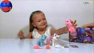 ✔ My Little Pony, Disney Toys Videos Unboxing. Видео для детей. Новая Игрушка Ярославы. Серия 26