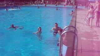 Swimming pool Klanovice summer 09