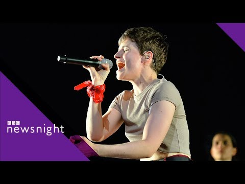 Christine and the Queens on gender and sexuality - BBC Newsnight