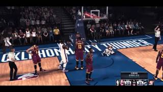 NBA 2K15 - PC Mods - Cinematic SweetFX [Westbrook w Mask & Lebron updated face]