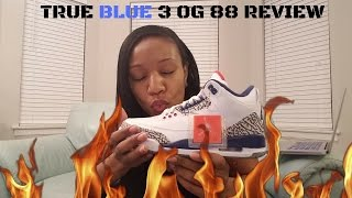 air jordan true blue 3 og 88 review