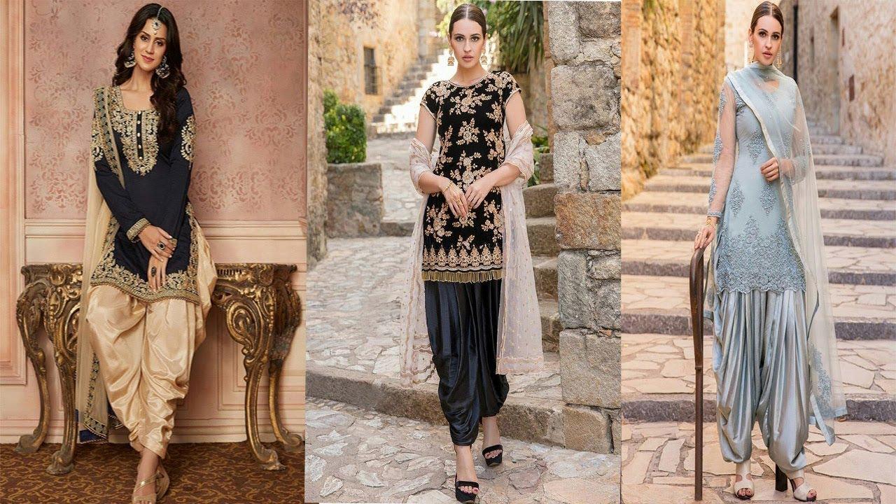 Different Design Of Punjabi Suit   Salwar Suit Design Photo   Boutique Style Salwar Suit Design 2019