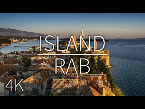 Island Rab  | DRONE FOOTAGE | Pointers Travel