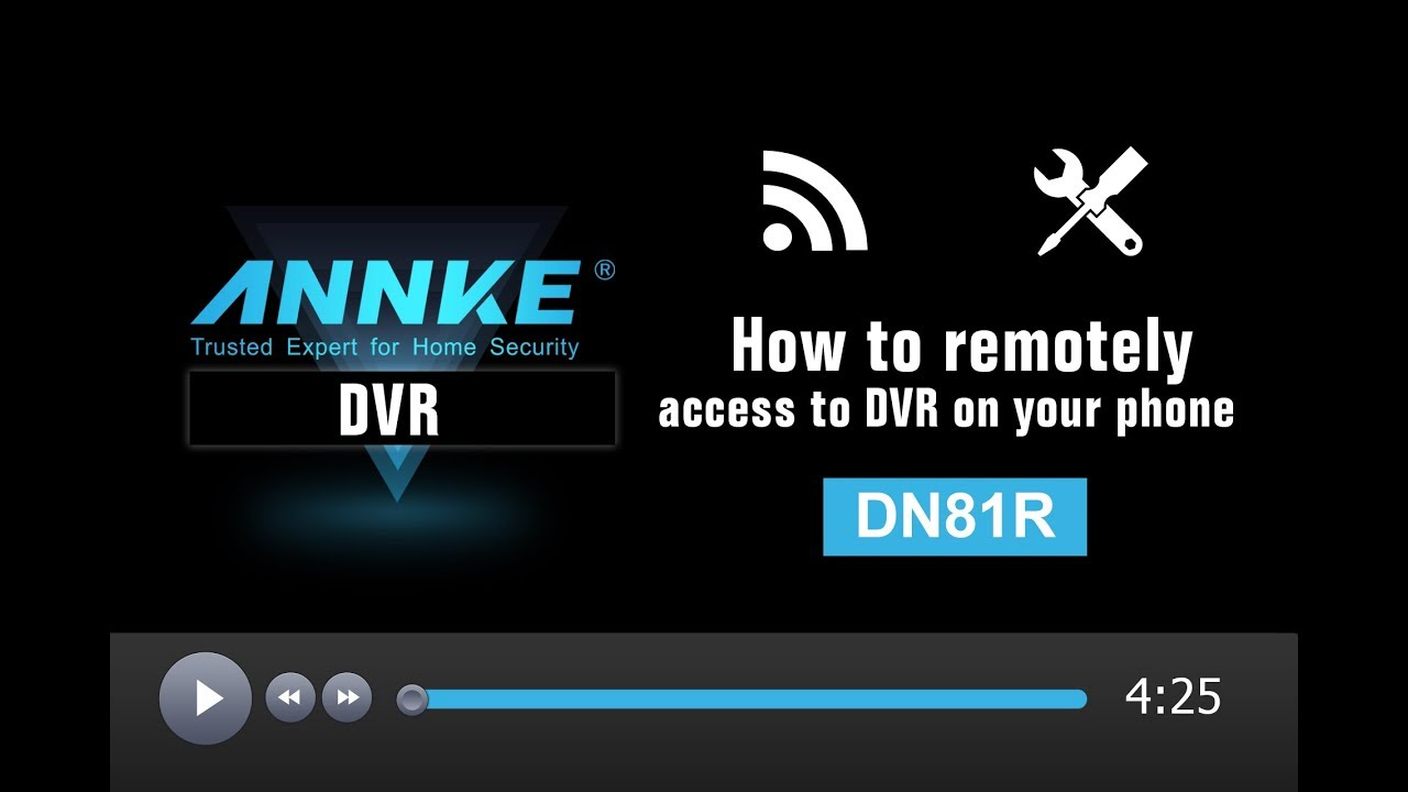 How To Remotely Access Annke Dvrdn81r From Your Phone With Safety Vision Wiring Diagram App