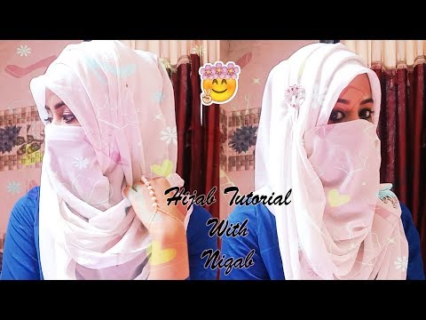 Easy And Comfortable Hijab Niqab Tutorial With Full Coverage  For Eid | Be You And Beauty