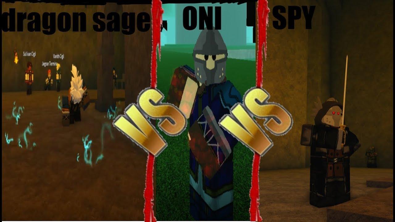 Dragon Sage Vs Oni Vs Spy Rogue Lineage Youtube