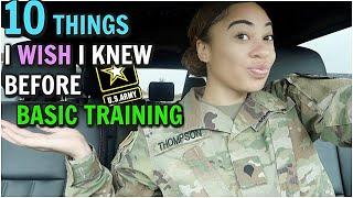 10 THINGS I WISH I KNEW BEFORE GOING TO ARMY BASIC TRAINING | ItsEssi