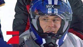 Rewinside vs.David Odonkor (Einzel-Kajak) | Die ProSieben Wintergames 2018 | ProSieben