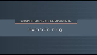 Chapter 3.6 Excision Ring