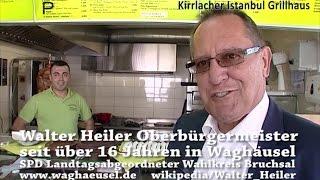 Waghäusel - Kirrlach - SUCHSPIEL im INFOFILM über Ihr KIRRLACHER ISTANBUL GRILLHAUS