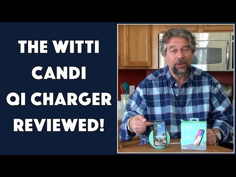 The Slick Witti Design CANDI Qi Charger - REVIEWED