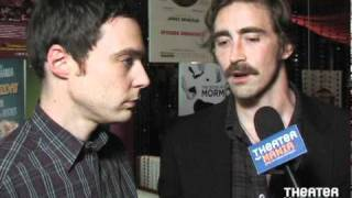Lee Pace and Jim Parsons Talk about Broadway