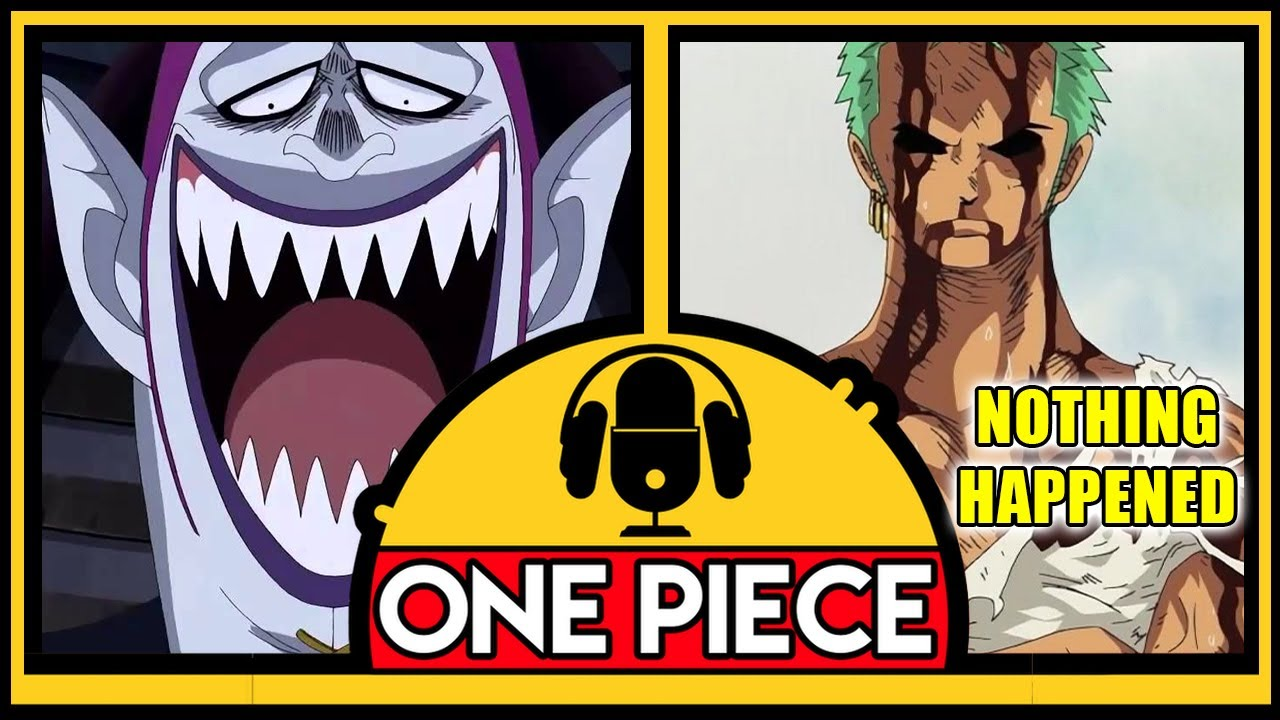 NOTHING HAPPENED | The One Piece Virgin Podcast - End of Thriller Bark