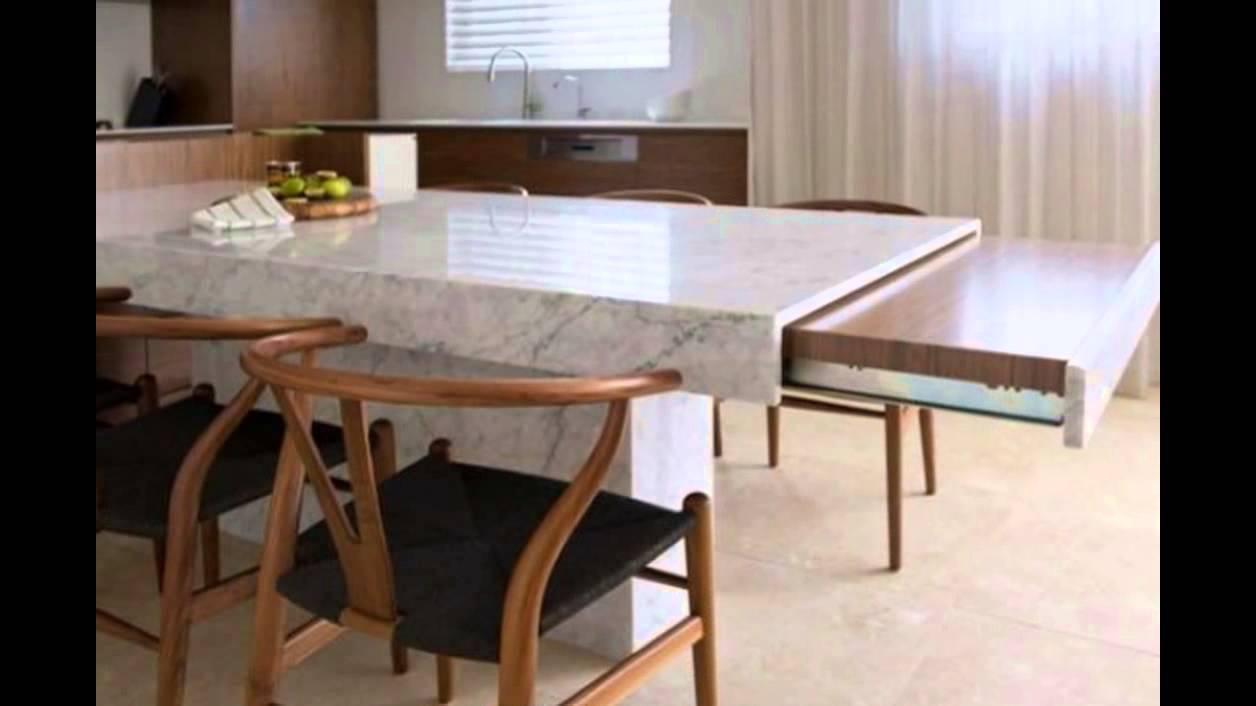 Distintos dise os de mesas de cocinas que quedaran muy - Herrajes para mesas plegables ...