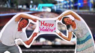 Repeat youtube video 【結婚式余興】 お祝いムービー 【パラパラアニメ】