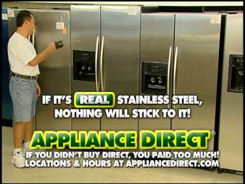 Liance S Orlando Refrigerator Stainless Steel Magnet Test
