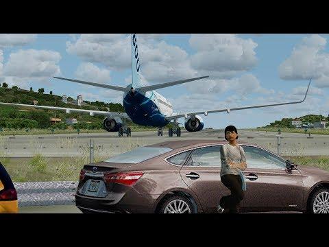 Отказ диспетчера В зону над Скиатосом на Boeing 737-800 для Prepar3D