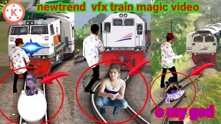 April 16, 2021NEW TREND INVISIBLE VFX TRAIN MAGIC VIRAL VIDEO KINE MASTER EDITING