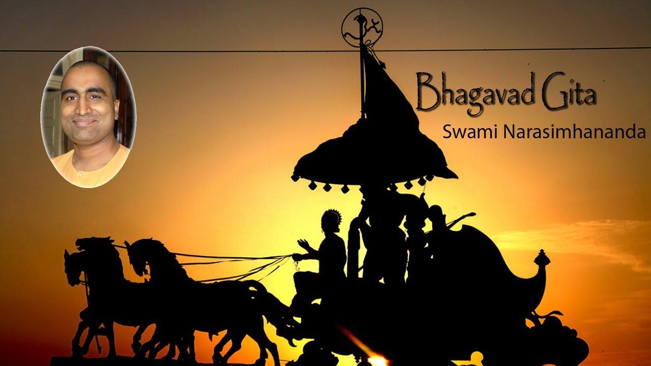 Gita For All 8 Bhagavad Gita Explained by Swami Narasimhananda
