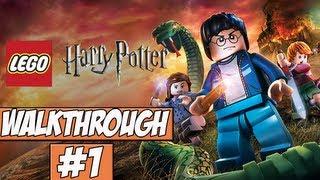 LEGO Harry Potter: Year 5-7 Walkthrough Ep.1 w/Angel - Bricks Are Back!
