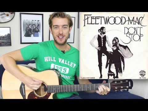 Don't Stop - Guitar Tutorial - Fleetwood Mac - EASY BEGINNERS SONG